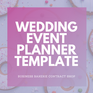 Wedding and/or Event Planner Template