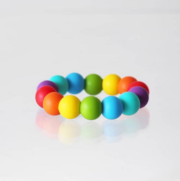 Rainbow Freezer Teether - Emi and Jo Baby
