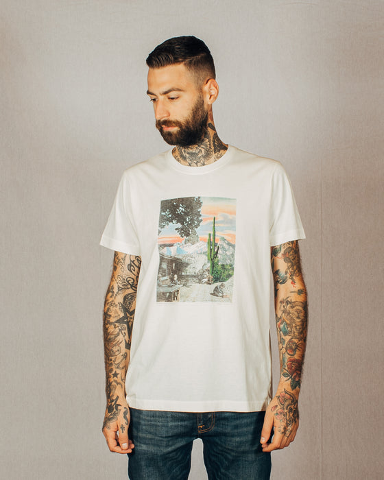 Nudie Roy Someplace Collage Tee