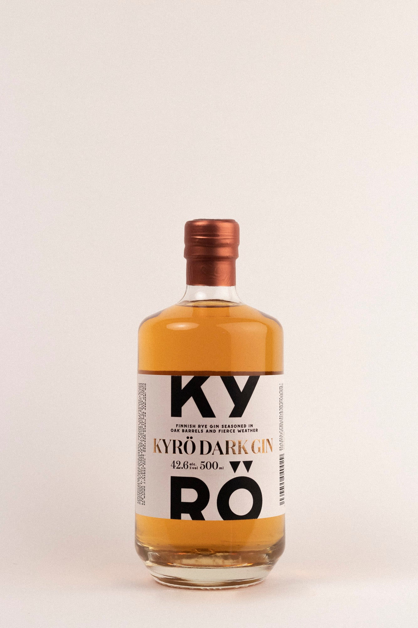 Kyrö Dark Gin, 500ml