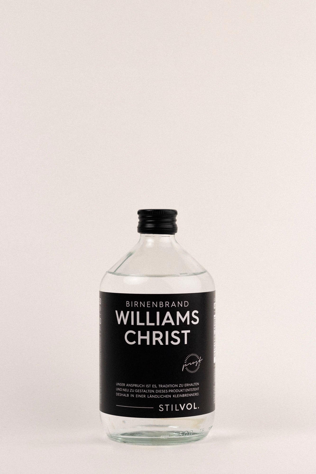 Stilvol Williams Christ Birnenbrand, 500ml