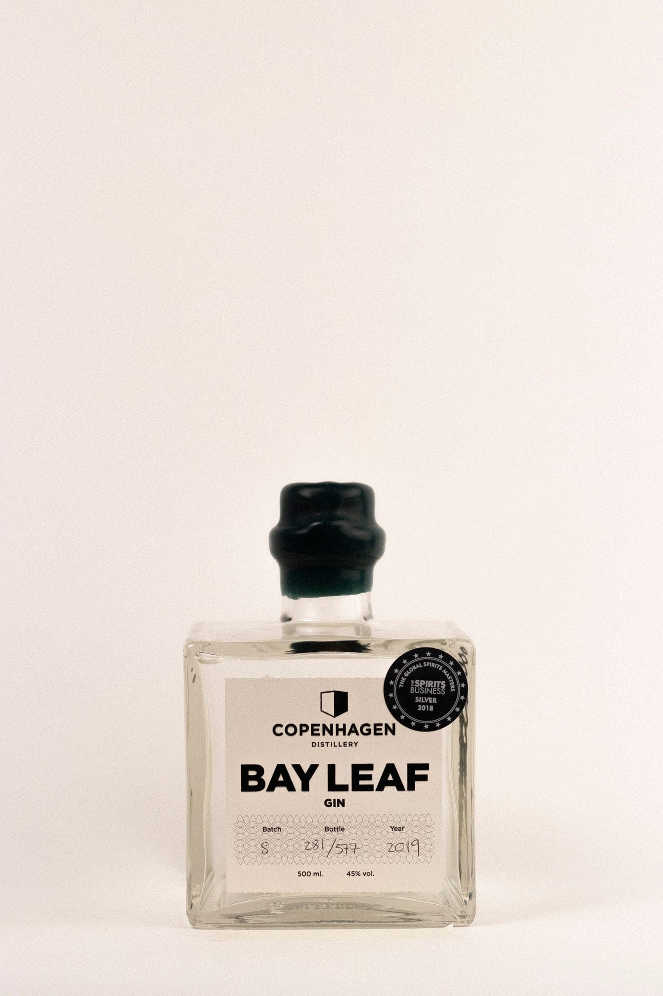Copenhagen Distillery Bay Leaf Gin, 500ml