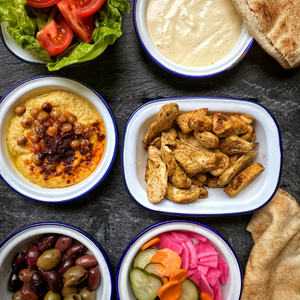 Mezze Kit - Chicken Shawarma