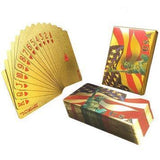 【Save 40%】 Luxury 24K Gold Foil Poker Playing Cards