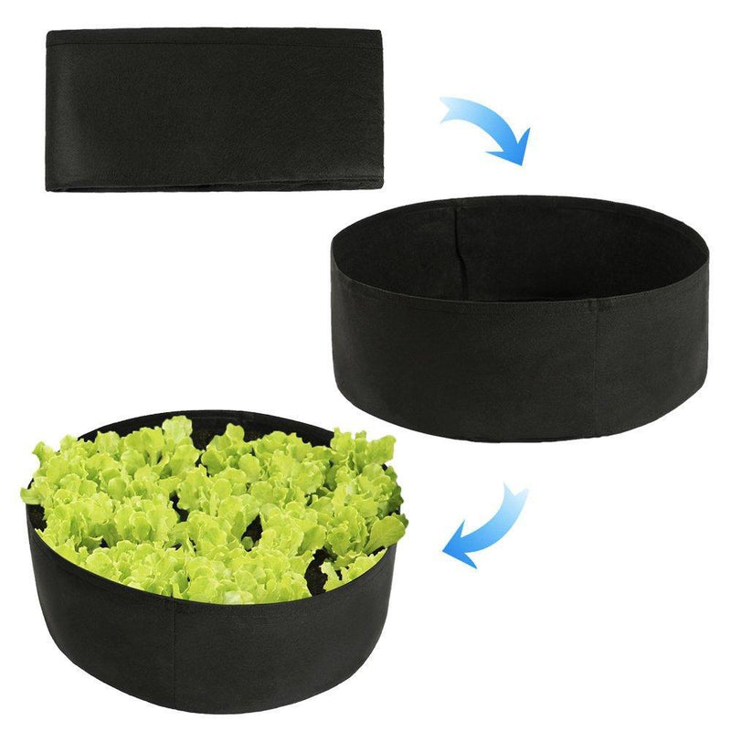 Smart Pots 12015 Big Bag Bed Fabric Raised Planting Bed