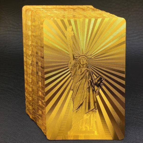 【Save 50%】 Luxury 24K Gold Foil Poker Playing Cards
