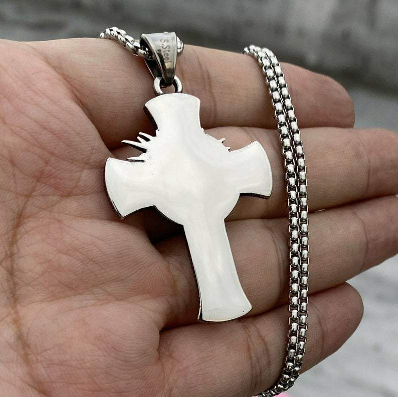 Jesus Christ's Cross Necklace(🔥BUY 2 GET 1 FREE NOW🔥)