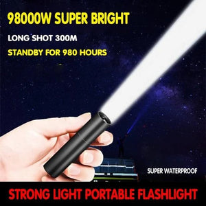 50% OFF-USB Strong Light Portable LED Flashlight(Buy 2 Free Shipping)