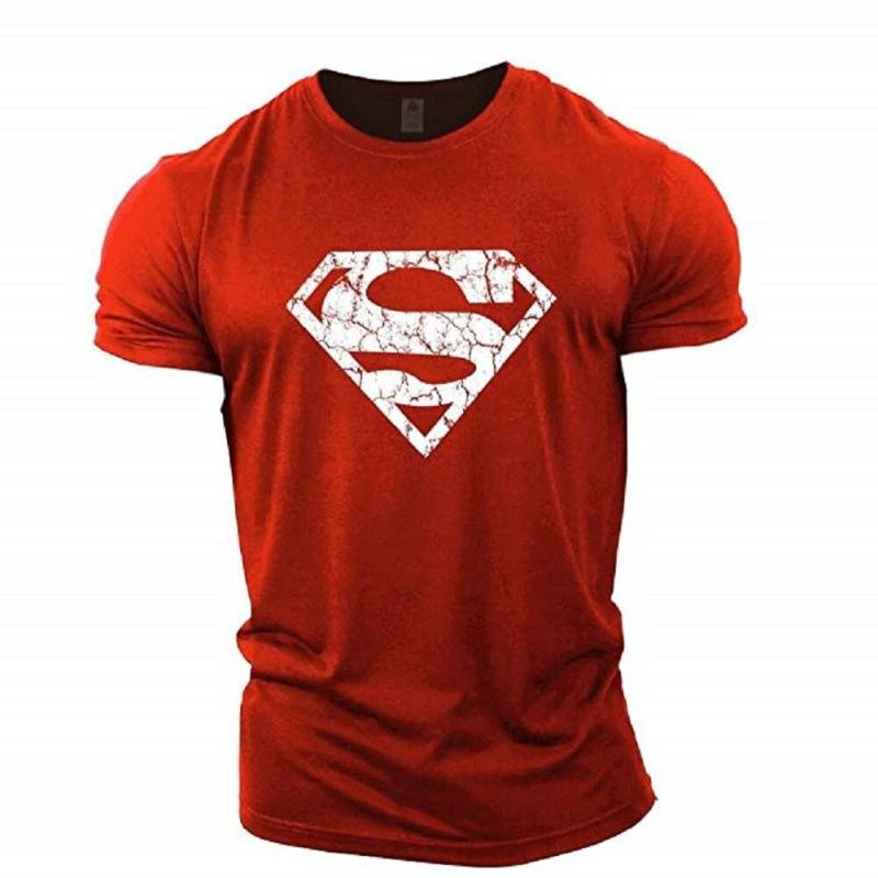 Gym T shirt For Men Fitness slim-cut Top Crop T-Shirt 2021