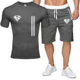 Summer fitness sports trend men's personality fashion printingshort