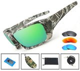 Grizzly Fishing 3 PACK [Grey,Blue,Sunrise] Grizzly Fishing Pro Sunglasses Kit
