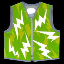 Load image into Gallery viewer, Eco Green Lightning Vest for Kid. Size 2