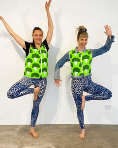 Broccoli Reflective Bike Vest Eco