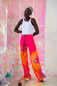 Blob Reflective Festival Pants - Collab with @donebymatea