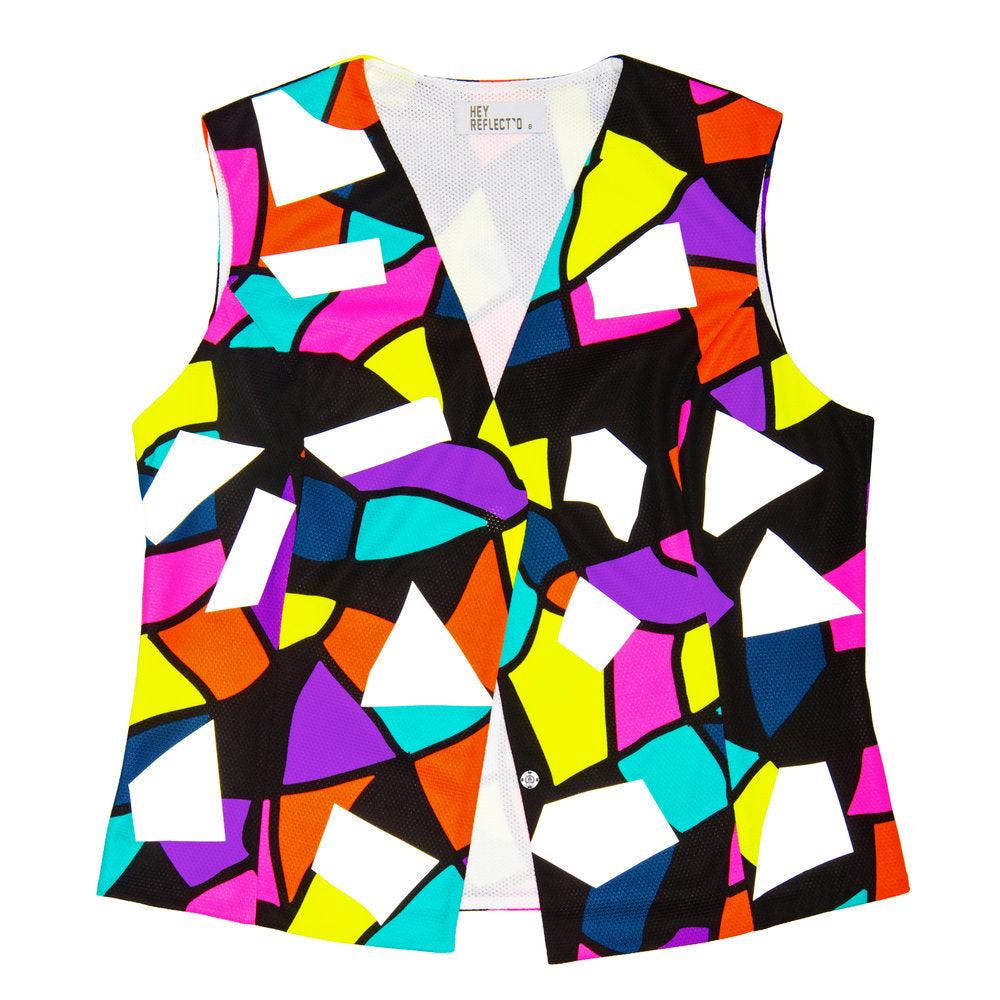 Confetti High Visibility Waistcoat. Size 6