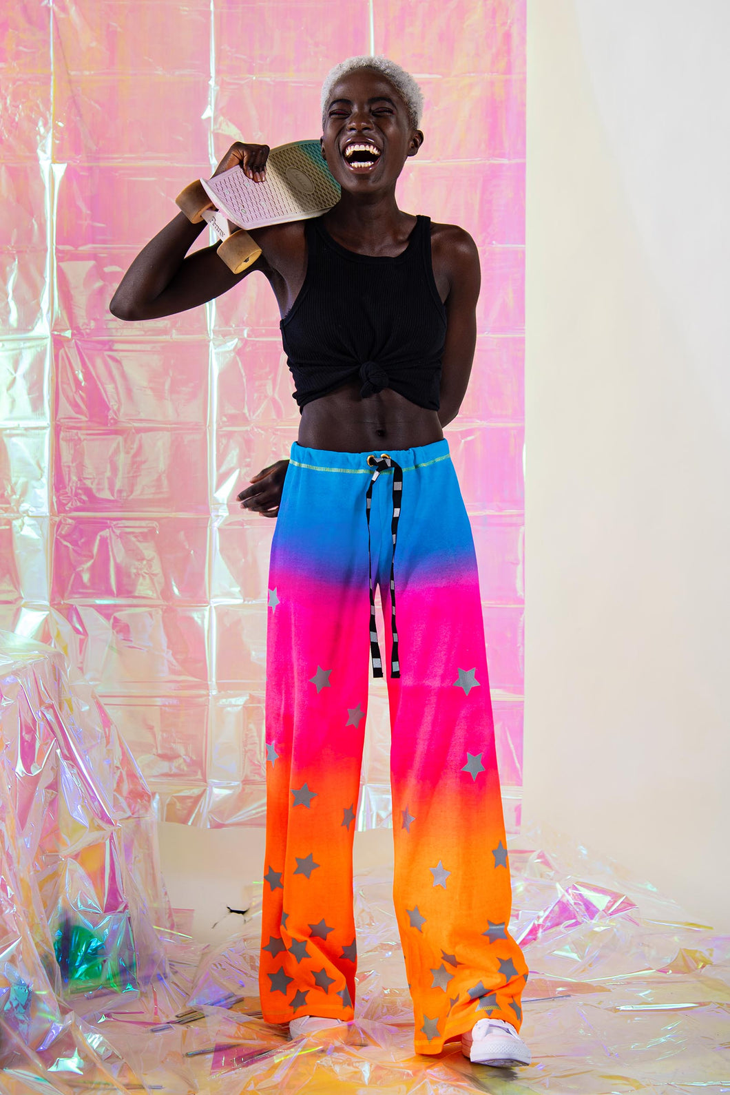 Sunset Gradient Pants - Collab with @donebymatea