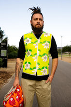 Load image into Gallery viewer, Long Mens Daisy Chain HiVis Vest Eco