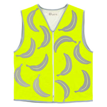 Load image into Gallery viewer, Long Vest - Men's/Unisex - Banana Reflecto - Hemp/Organic Cotton