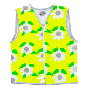 Long Mens Daisy Chain HiVis Vest Eco
