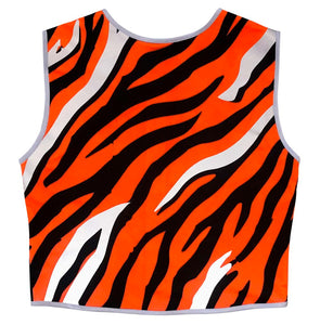 Eye of the Tiger Reflective Vest - Recycled Bottles - Size 10, 12