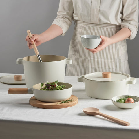 Neoflam Cookware Non Toxic Fika Chef White
