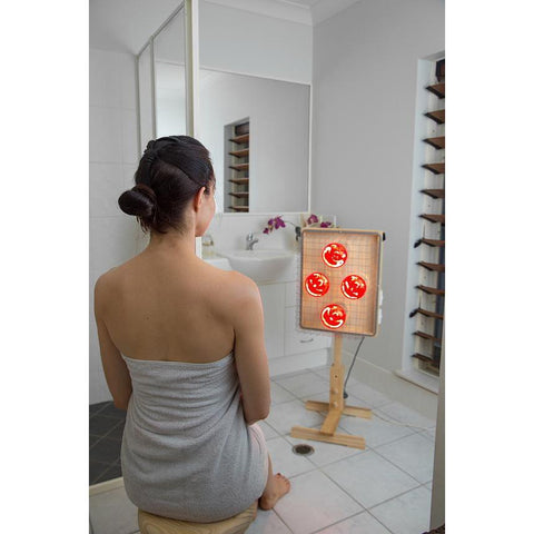 Portable Near Infrared Sauna Australia girl