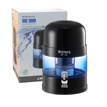 Load image into Gallery viewer, BIO 1000 Bench Top Water Filter - 10 Litre (Black) - Detox Crew