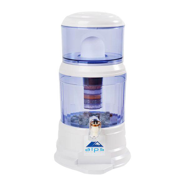 ALPS Gravity Fed Water Filter 12 Litre (White) - Detox Crew