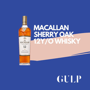 Macallan Sherry Oak 12 Years Single Malt Whisky - GULP