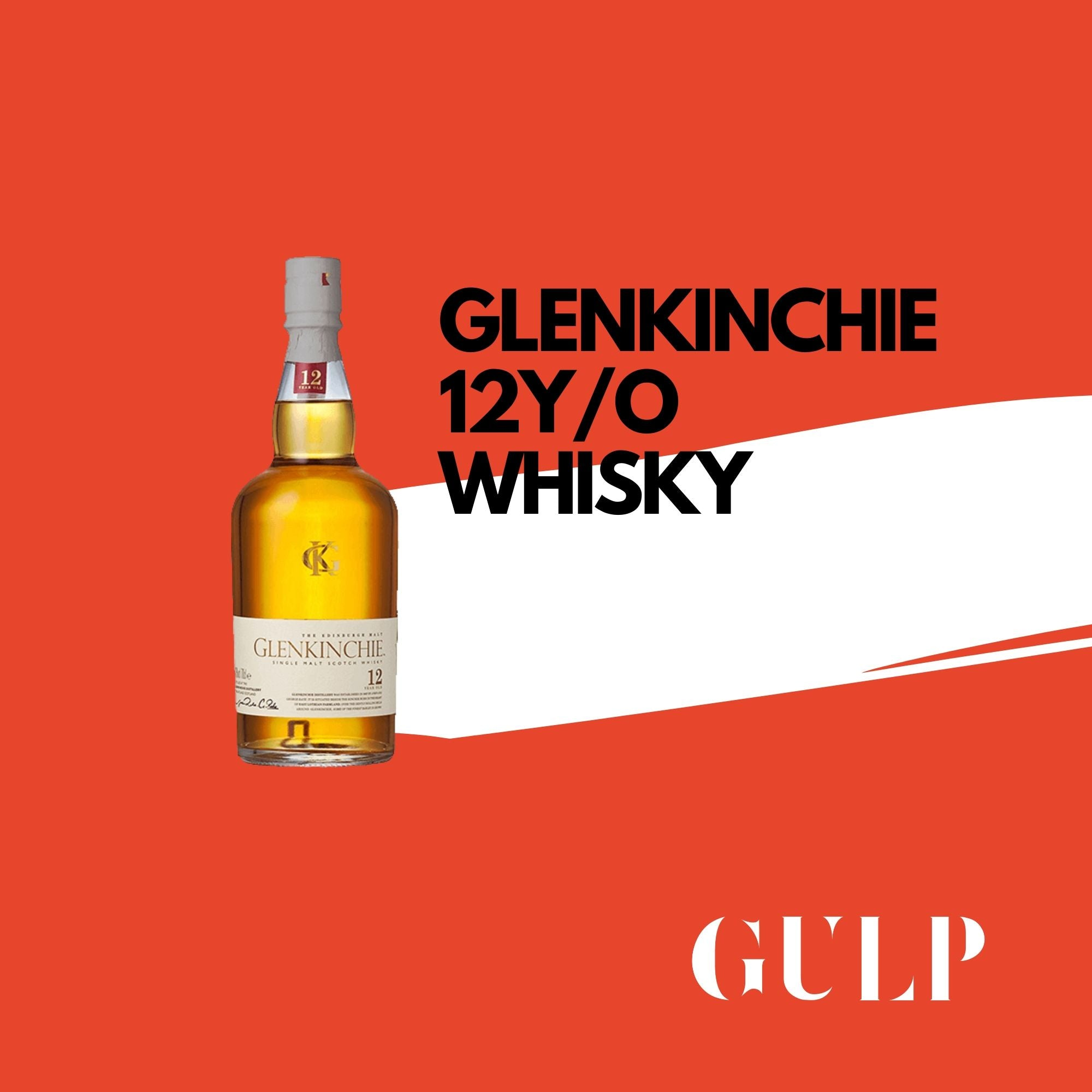 Glenkinchie 12 Years Single Malt Whisky - GULP