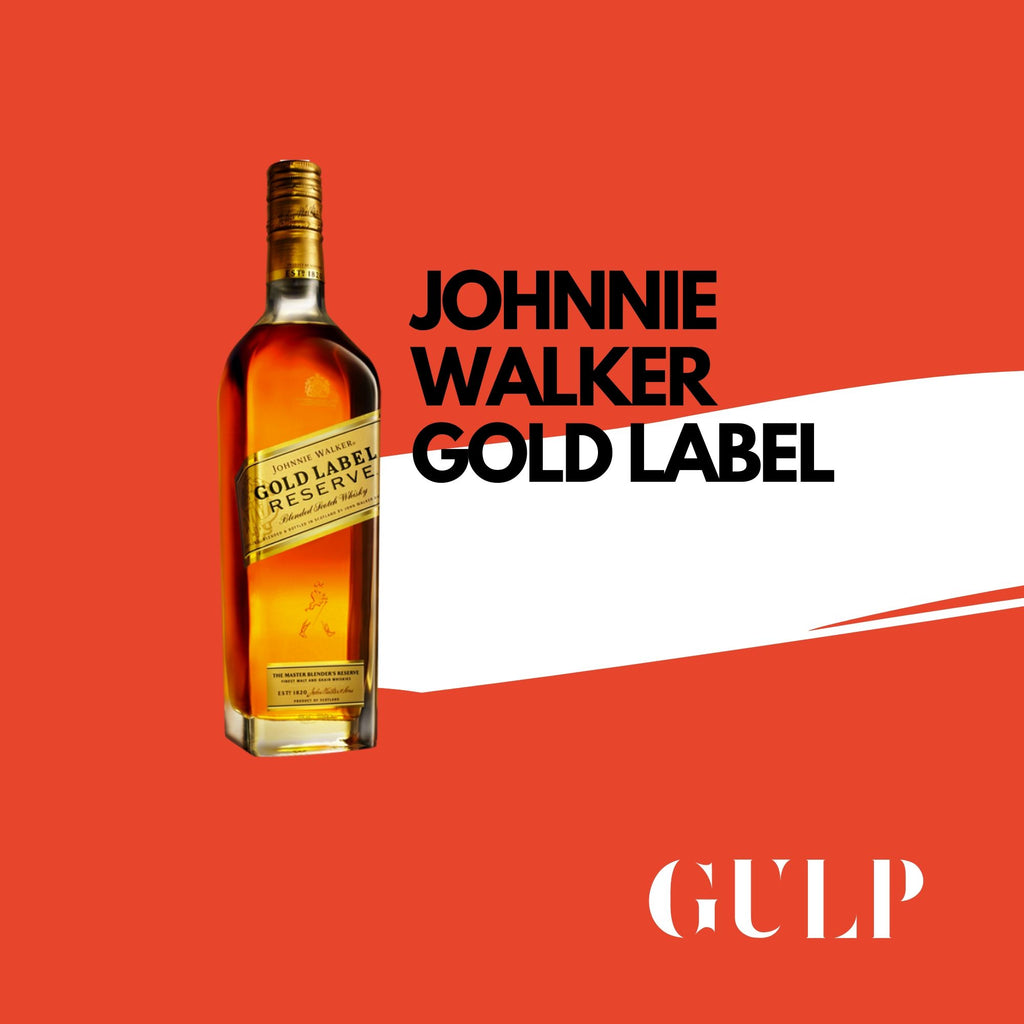 Johnny Walker Gold Label - GULP
