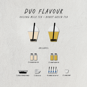 BYO Honey Green Tea Boba Kit - GULP