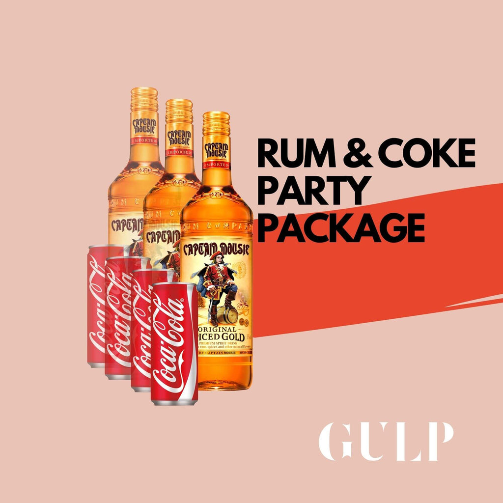 Trio Rum & Coke Set - GULP