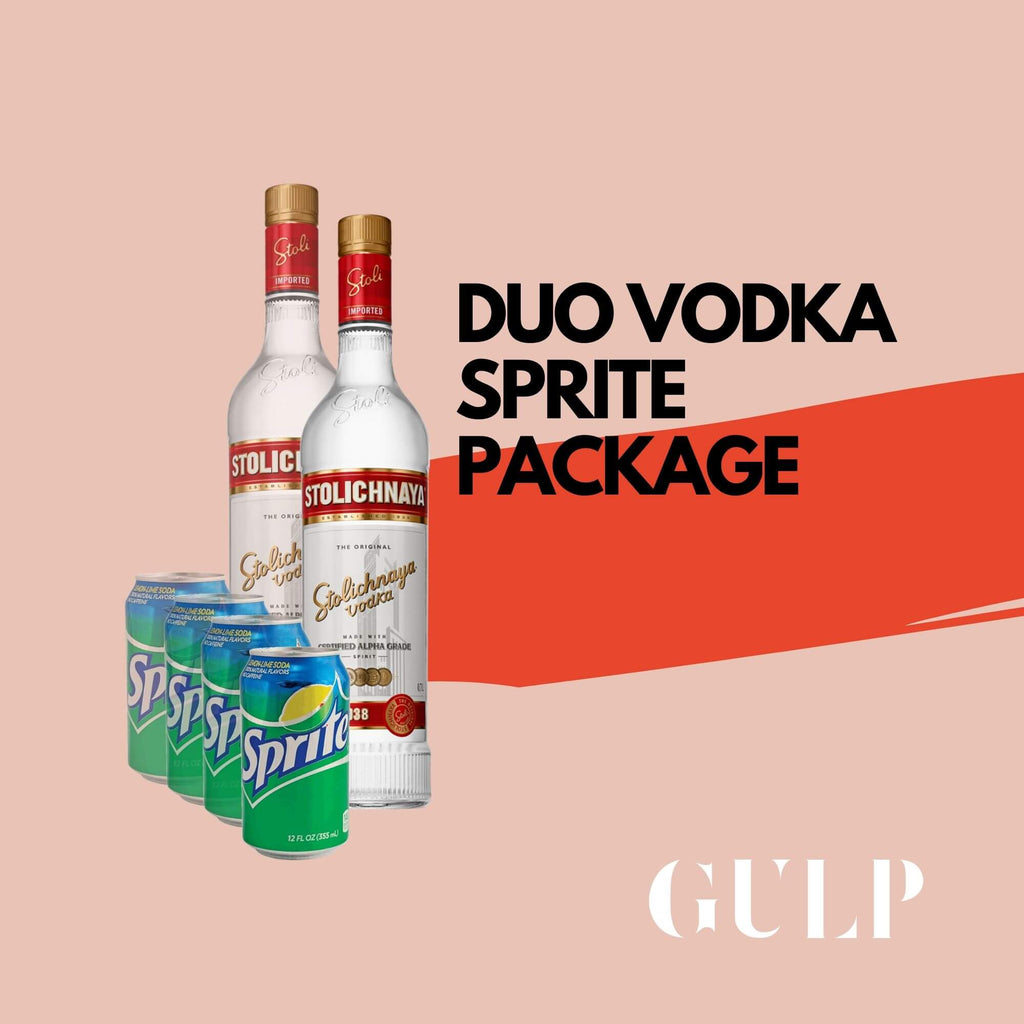 Duo Vodka & Sprite Set - GULP
