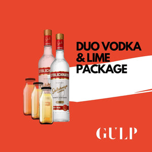 Duo Spirits Vodka Lime & Gin Tonic Set - GULP