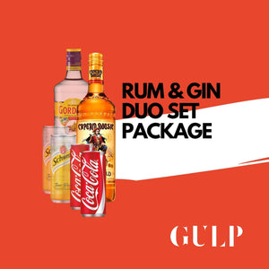 Duo Spirits Rum Coke & Gin Tonic Set - GULP
