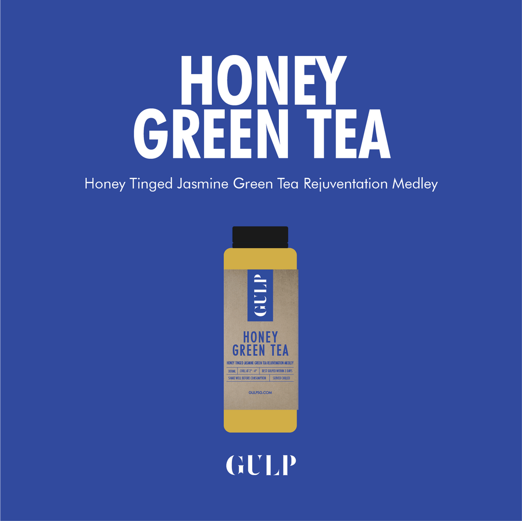 Honey Green Tea Set - GULP