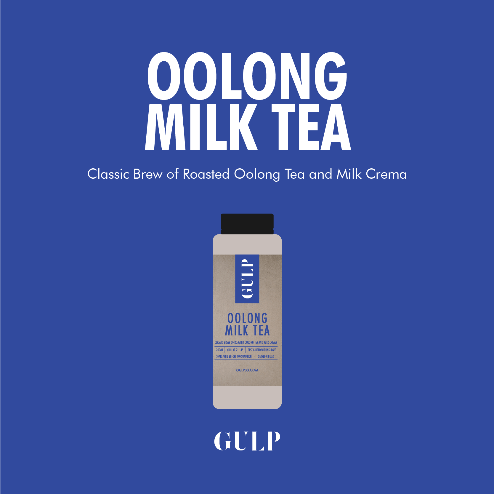 Oolong Milk Tea Set - GULP