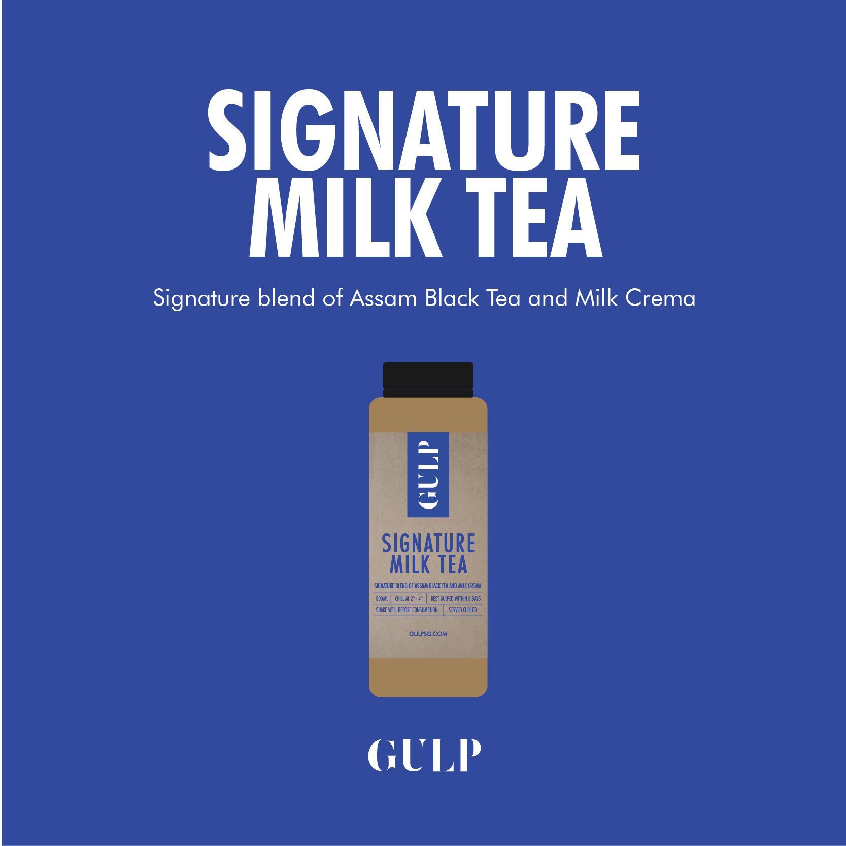 Signature Milk Tea Set - GULP