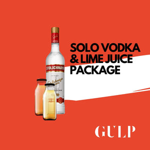 Solo Vodka & Lime Set - GULP