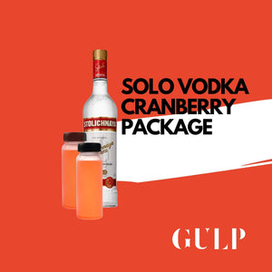 Solo Vodka & Cranberry Set - GULP