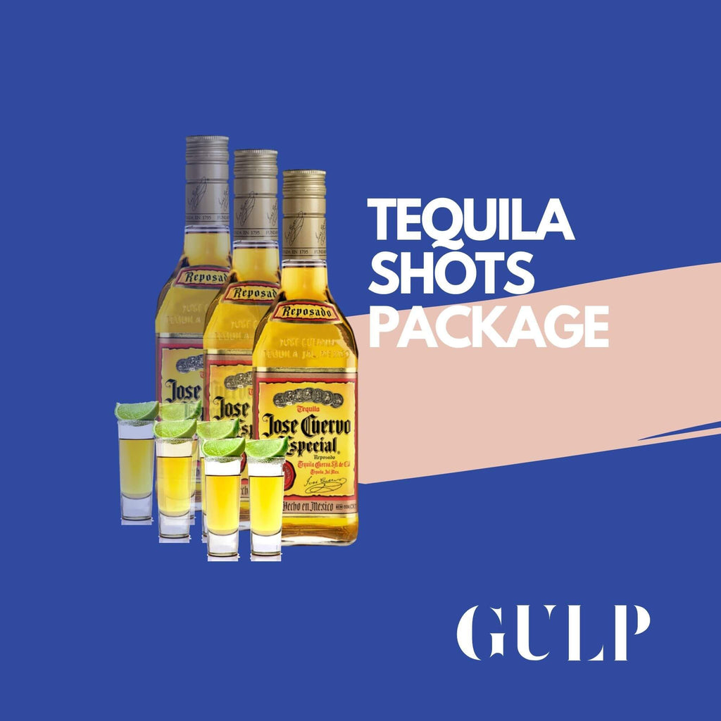Trio Tequila Shots Set - GULP
