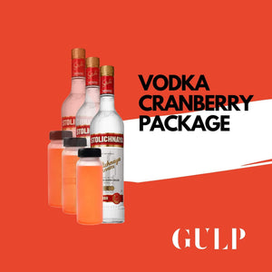 Trio Vodka & Cranberry Set - GULP