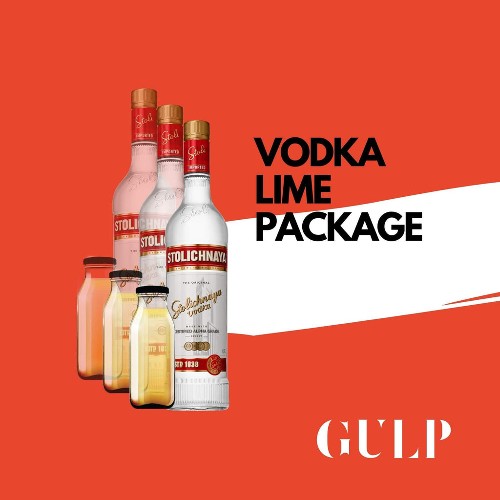 Trio Vodka & Lime Set - GULP