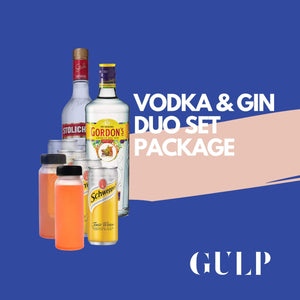 Duo Spirits Vodka Cranberry & Gin Tonic - GULP