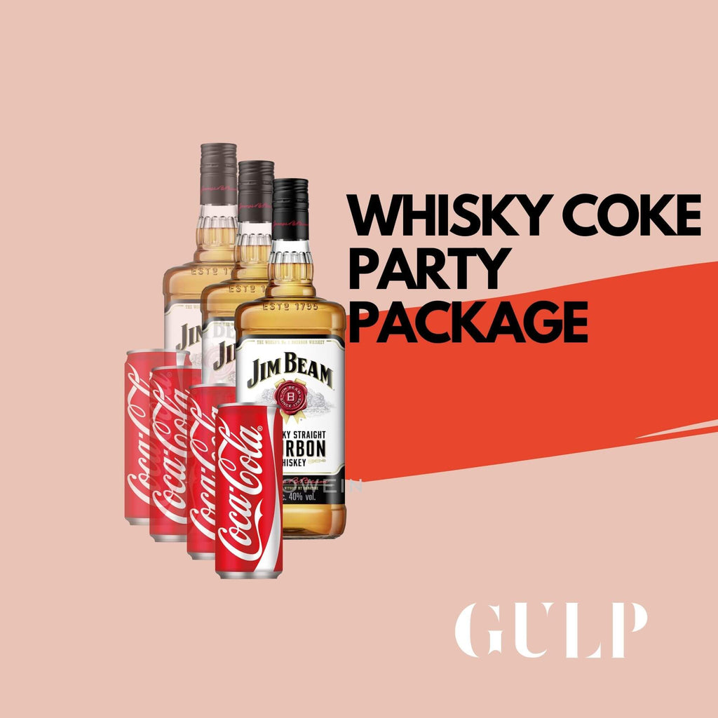Trio Whisky & Coke Set - GULP