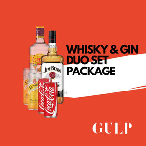 Duo Spirits Whisky Coke & Gin Tonic Set - GULP