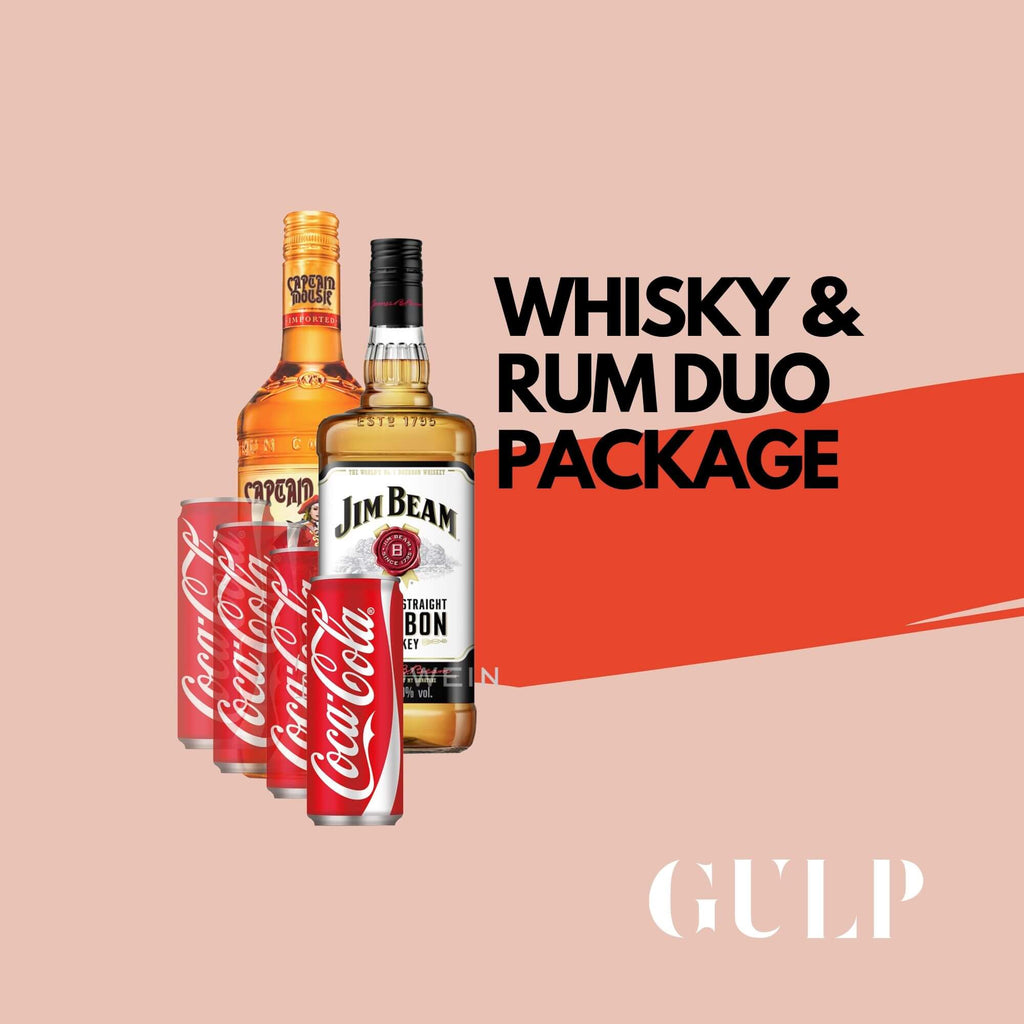 Duo Spirits Whisky Rum & Coke Set - GULP