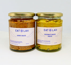 The Cham Cham - Coconut Paste and Satay Sauce 300ml