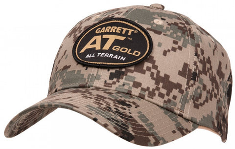 "Garrett ""AT GOLD"" Camo Cap"